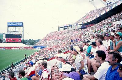 Die Stadien der Weltmeisterschaft 1994 waren immer gut besucht