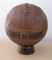 Fussball der WM Endrunde 1938 in Frankreich