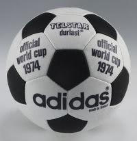 Spielball der Endrunde 1974 in Deutschland