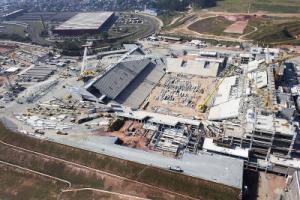 WM Stadion in Sao Paulo befindet sich noch in Bau
