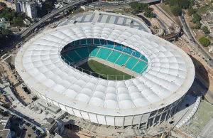 WM Stadion Arena Fonte Nova in Salvador da Bahia