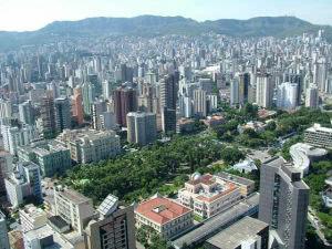Panorama der WM 2014 Stadt Belo Horizonte