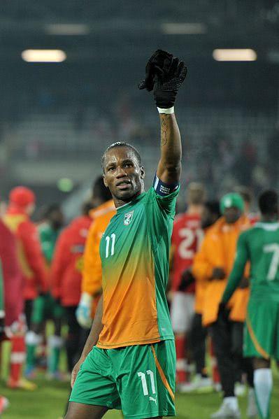 Didier Drogba - der Star der Elfenbeinküste
