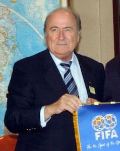 FIFA Präsident Blatter sieht Europa nicht als WM-Favorit