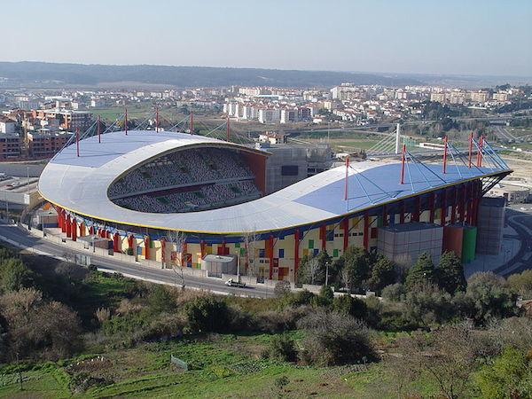 Das Match zwischen Portugal und Kamerun fand in Leiria statt