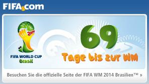 In 69 Tagen beginnt die Weltmeisterschaft 2014 - einige Probleme gilt es noch zu beseitigen