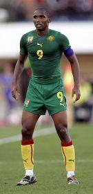Samuel Eto'o ist Kameruns Rekordtorschütze