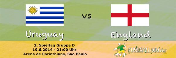 Uruguay gegen England ist ein Duell zweier ehemaliger Weltmeister
