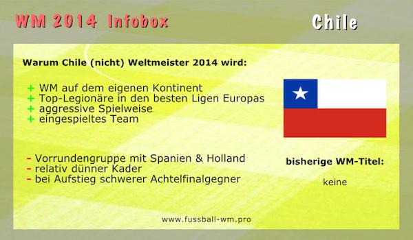 Chile könnte zu einem der Überraschungsteams der WM 2014 werden.