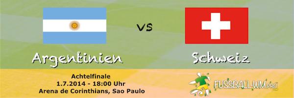 Vorschau Argentinien gegen Schweiz