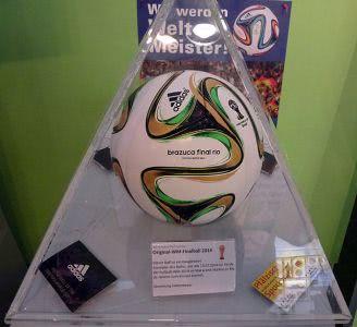 Der Brazuca war der offizielle Spielball der WM 2014 in Brasilien