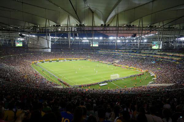 Das Estadio Maracana war Schauplatz des Finales