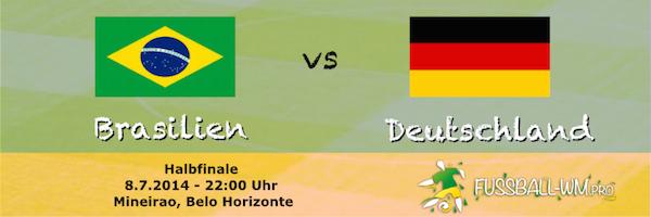 Brasilien - Deutschland WM Semifinale