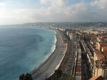 Promenade Nizza EM Spielort