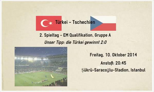 Türkei Tschechien Wetten Tipp für die EM Qualifikation