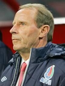 Bertiv Vogts wurde als Trainer Aserbaidschans entlassen