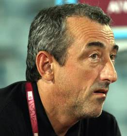 Bosniens Nationaltrainer Mehmed Bazdarevic