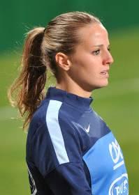Die Französische Teamspielerin Sandie Toletti