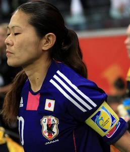 Japans Rekordspielerin Homare Sawa