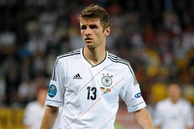 Thomas Müller im DFB EM Trikot