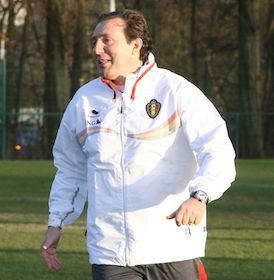 Belgien Trainer Marc Wilmots