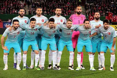 Türkische Nationalmannschaft Teamfoto