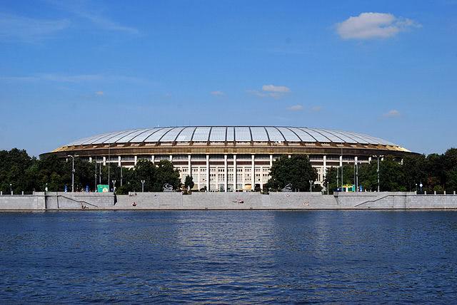 Luzhniki Stadion in Moskau zum WM Finale 2108