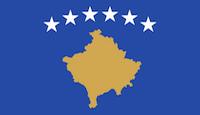 Kosovo Flagge