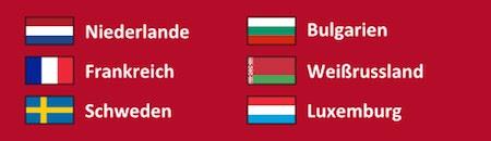 Gruppe A der WM Qualifikation 2018