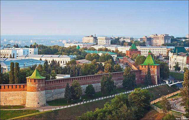 Kreml in Nischni Nowgorod
