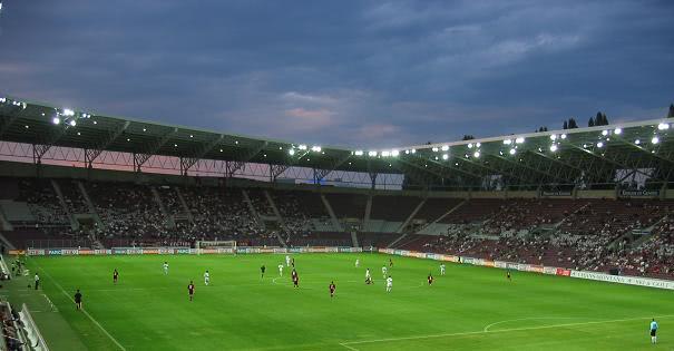 Schweiz - Lettland WM Quali 2018 Spielort Stade de Geneve in Genf