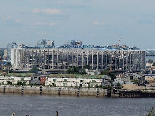 Nischni-Nowgorod-Stadion bei der Fußball WM 2018