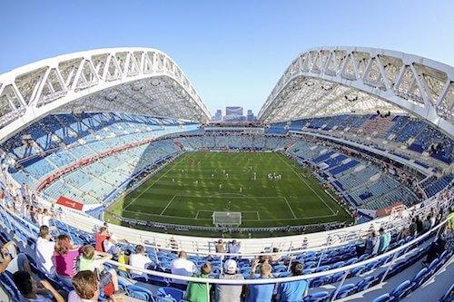 Fisht Stadion bei der WM 2018