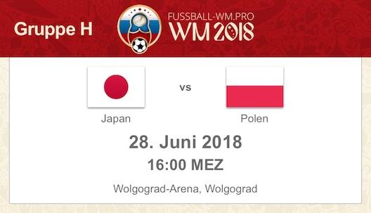 Prognose Japan Polen