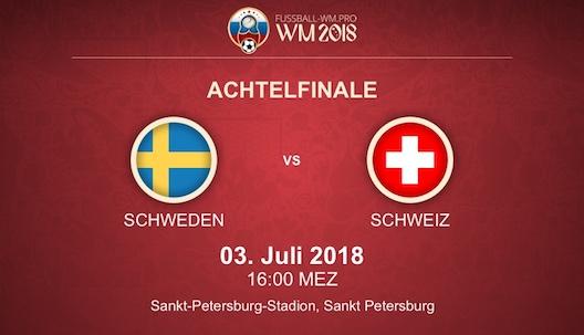 Schweiz Schweden Prognose