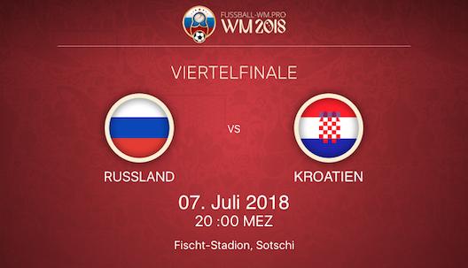 Russland gegen Kroatien Vorschau WM 2018