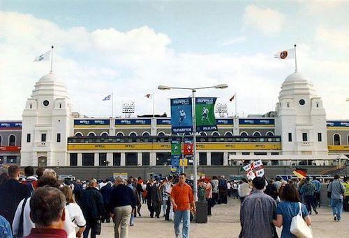 Altes Wembley Stadion bei der EM 1996