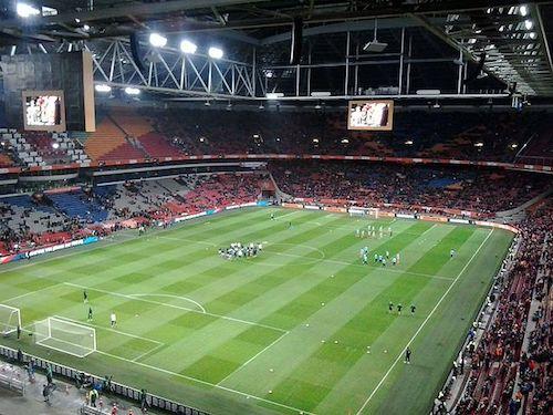Amsterdam Arena von innen