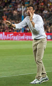 Spaniens Nationaltrainer Luis Enrique