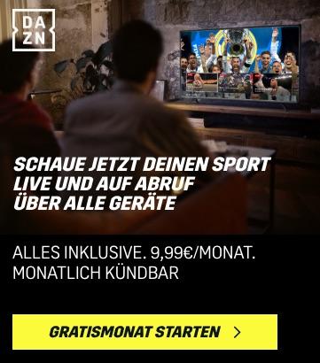 DAZN Fußball Livestream