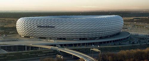 EM 2021 Spielort: Allianz Arena in München