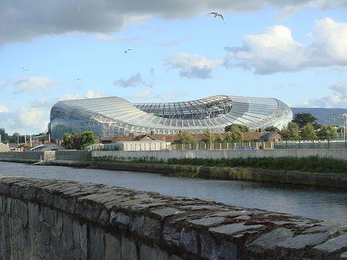 EM 2021 Spielort Dublin: Aviva Stadium