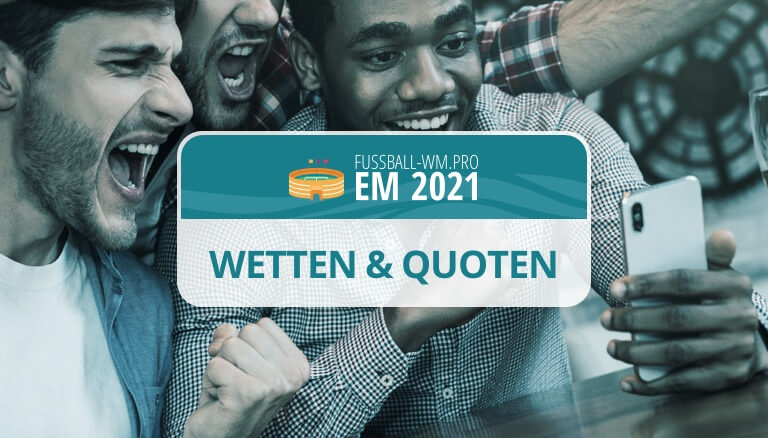 Europameisterschaft 2021 Quoten
