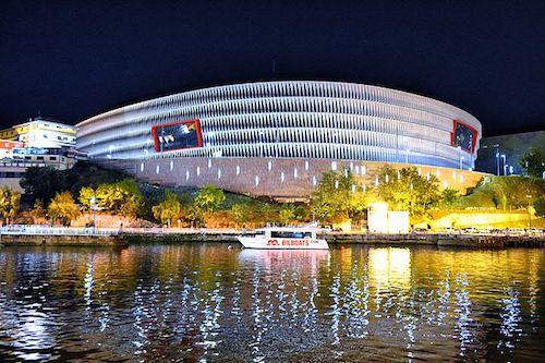 Estadio de san Mames in Bilbao als EM 2021 Spielort