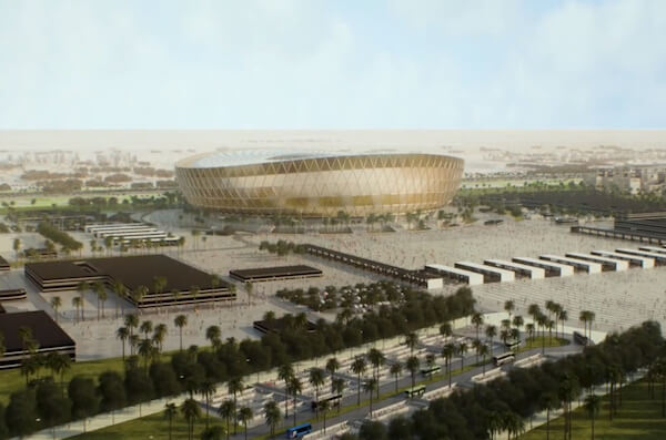 Lusail Stadium - WM 2022 Stadion in Katar