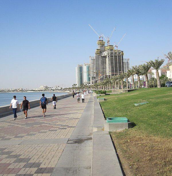 Doha Corniche - Strandpromenade