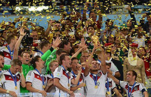 Deutschland als Weltmeister 2014