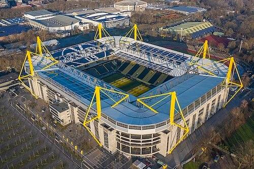 Signal Iduna Park in Dortmund als EM 2024 Spielort