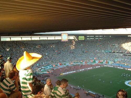 Finale vom UEFA Pokal 2002/2003 im Olympiastadion von Sevilla