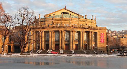Das Opernhaus von Stuttgart